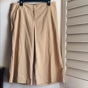 NWT Beige Wide Square Pants